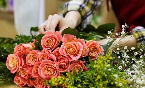 Chambre froide pour les fleuristes