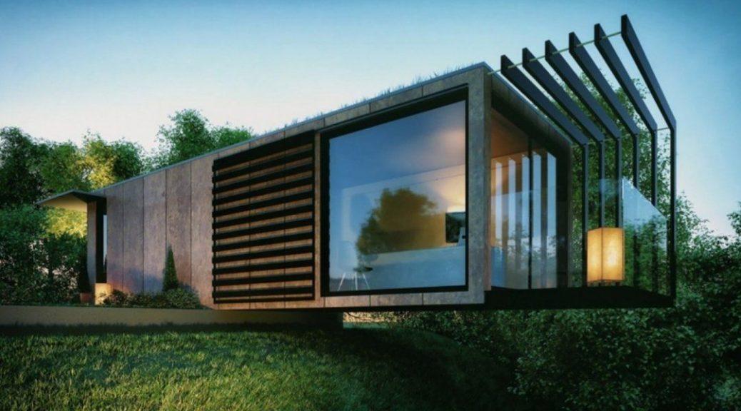 House design conteneur